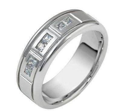 Mens Diamond Wedding Ring