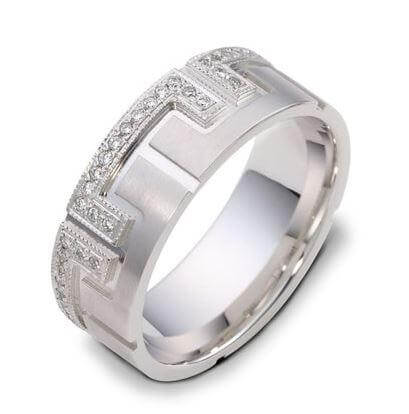 Mens wedding Diamond ring 18ct 1919000