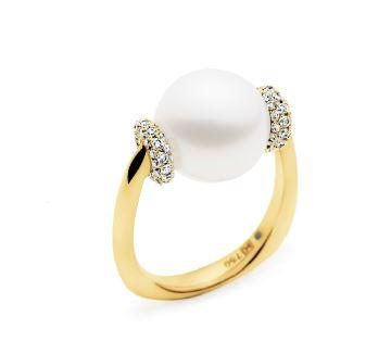 Kailis SHIMMER Tranquility Ring White Diamonds Yellow