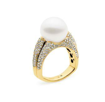 Kailis SHIMMER Vibrance Ring White Diamonds Yellow