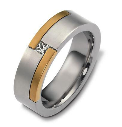 Mens Diamond wedding ring 18ct 2444000