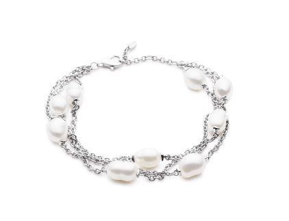 KAILIS SILVER Keshi Encore Bracelet