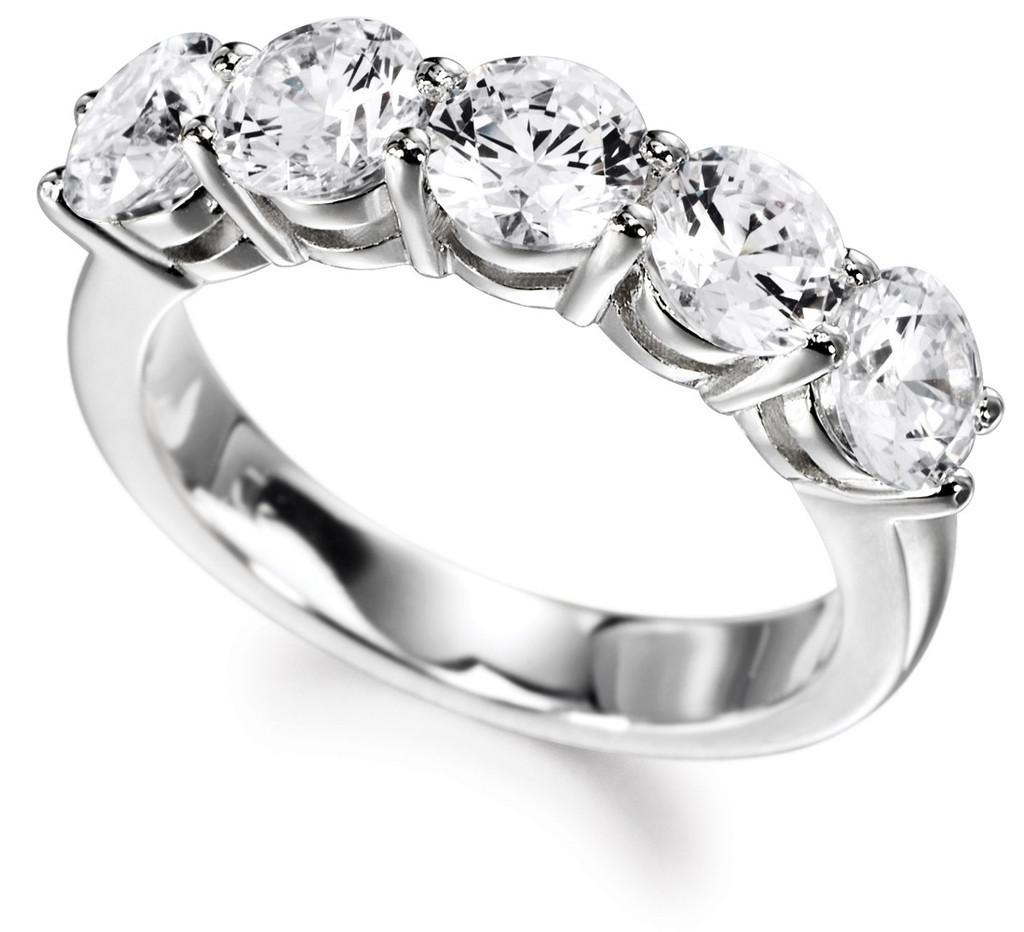 18ct White Gold 1.50cts