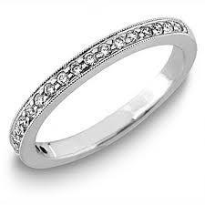18ct White Gold Diamond Wedding Ring FJ16959