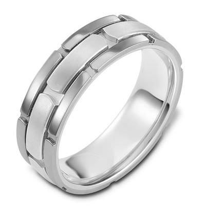Carved & Engraved 18ct