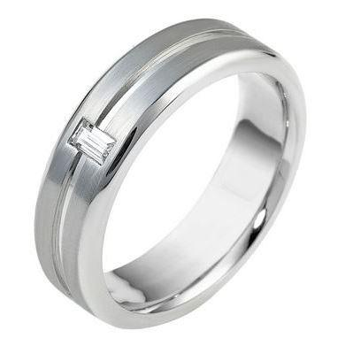 Mens diamond wedding ring 18ct 4267000