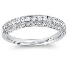18ct White Gold Diamond Wedding Ring FJ19709