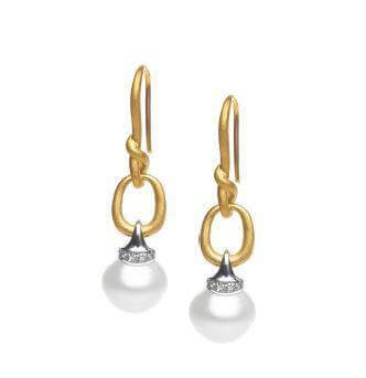Kailis KAILLISSIMA Aria Earrings Yellow Gold