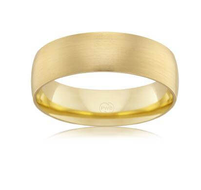 18ct Yellow Gold Gents Wedding Ring HHR3562
