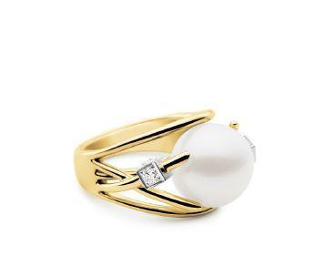 Kailis ETHERAL Orbit Ring Yellow Gold