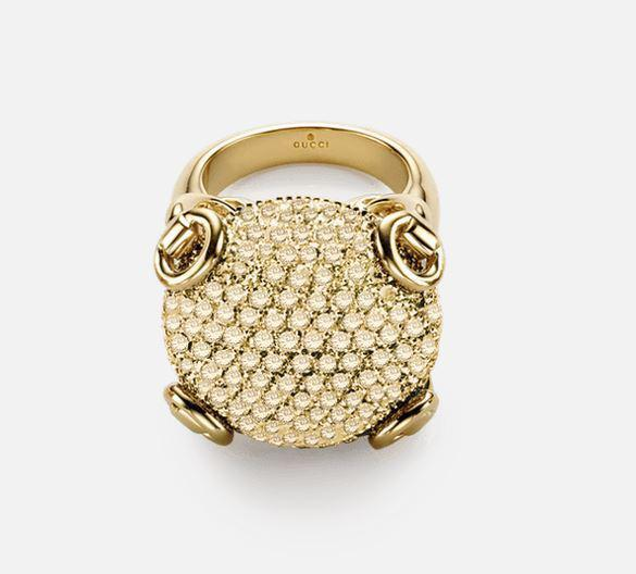 Gucci Horsebit ring YBC160449002