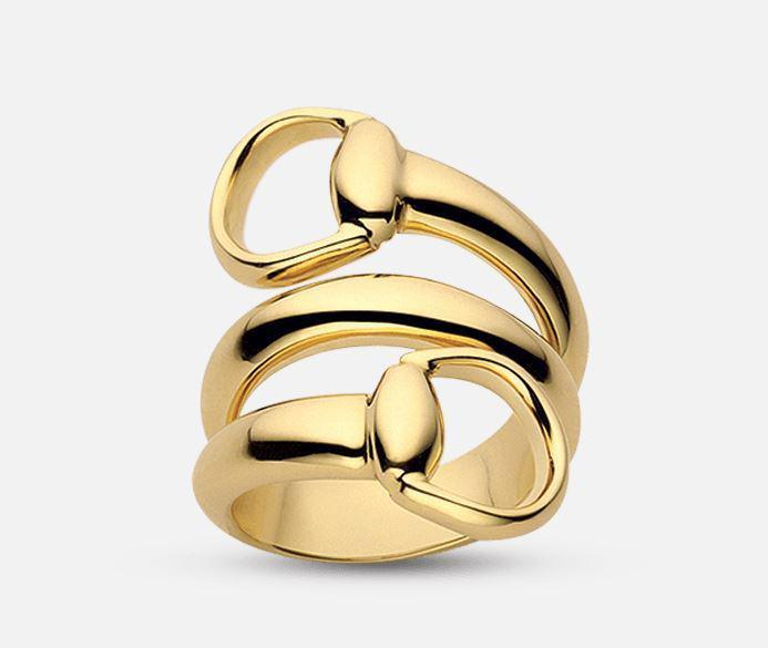 Gucci Horsebit  ring YBC233961002