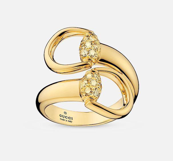 Gucci Horsebit ringYBC357036001