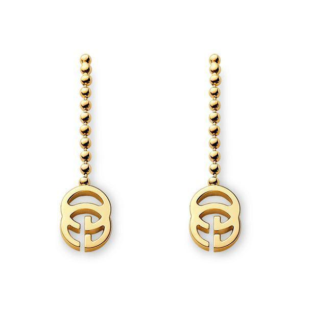 Gucci Running G drop earrings YBD356311001