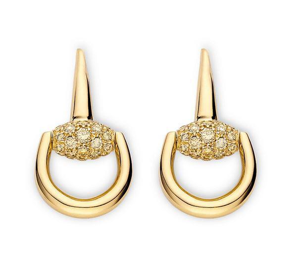 Gucci Horsebit earrings  YBD357029001