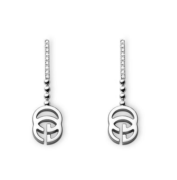 Gucci Running G  earrings YBD357122001