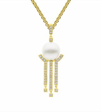 METROPOLIS Necklace Yellow Gold