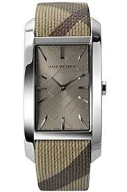 Burberry heritage beige leather watch -BU9404
