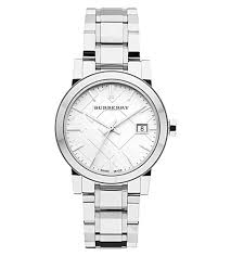Burberry city ladies steel watch- BU9100