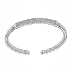 Gival 18ct Diamond Set Cuff Bangle (UNISEX) 4457/B2