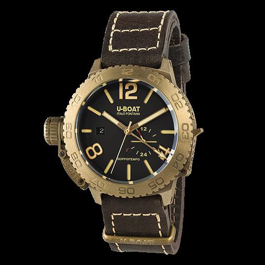 U-Boat Doppio Tempo Bronze- 9008
