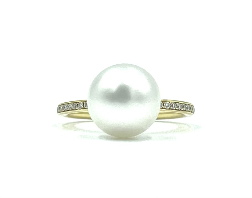 18ct Yellow Gold Pearl