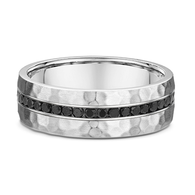 9ct White Gold Channel