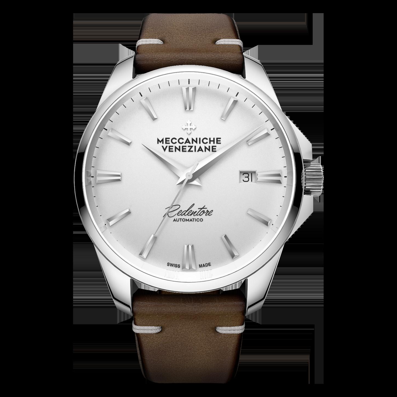 Meccaniche Veneziane white dial