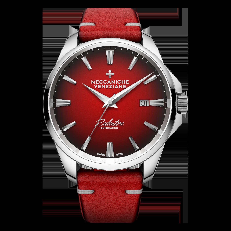 Meccaniche Veneziane red dial