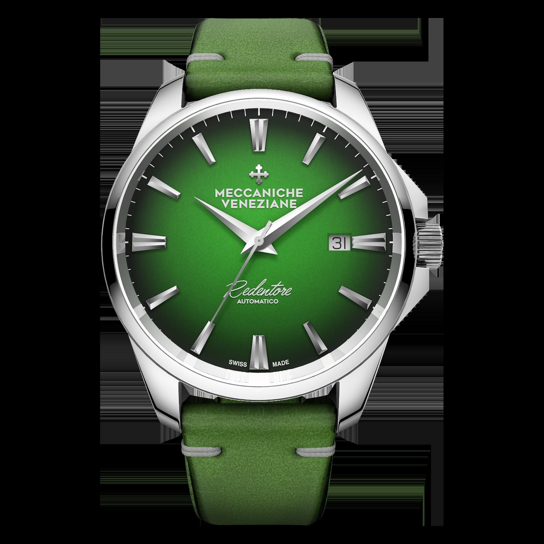 Meccaniche Veneziane Green dial