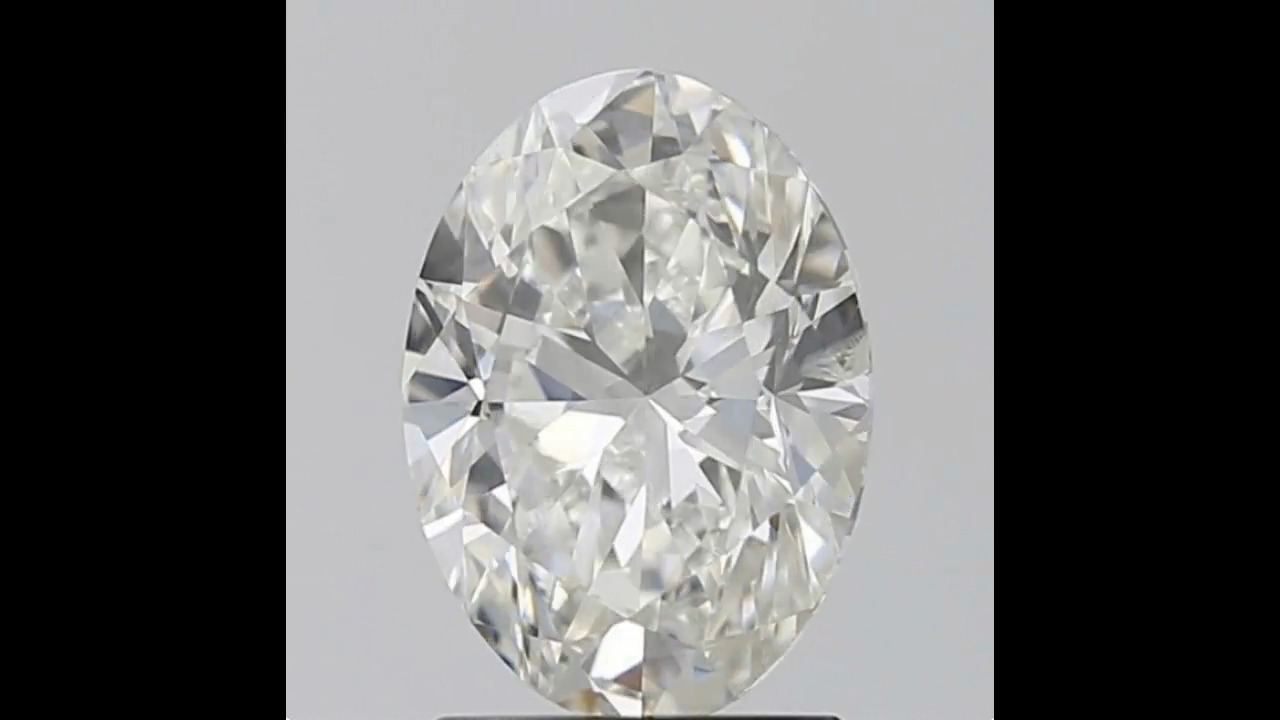 Loose Diamond Oval Diamond-