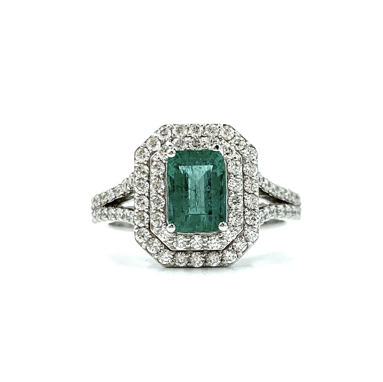 Gival 18ct Emerald and