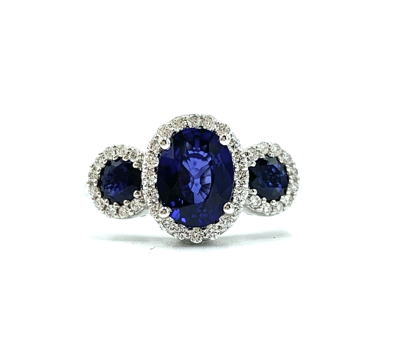 Gival 18ct Sapphire and