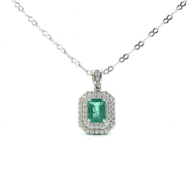 Gival, 18ct Emerald