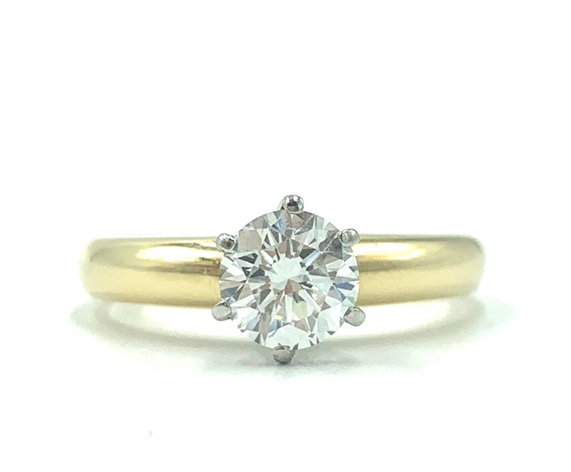 18ct Two Tone Six