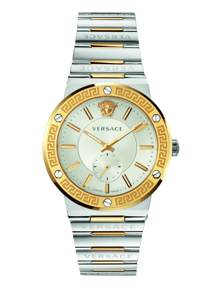 Versace Greco Logo Watch-