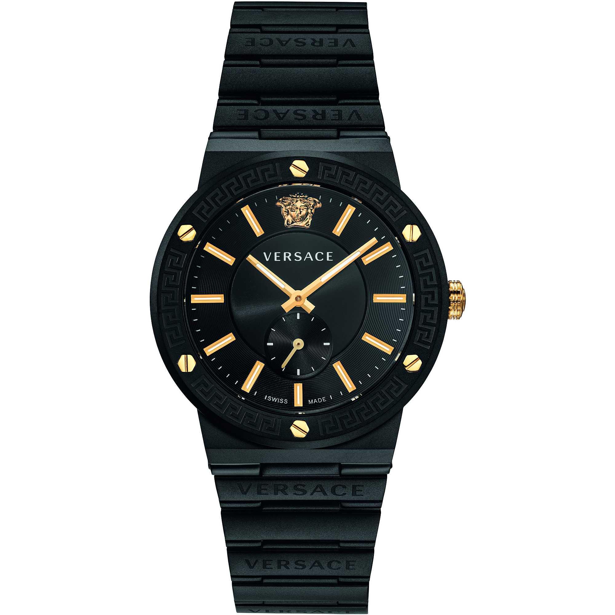 Versace Greca Logo Watch-