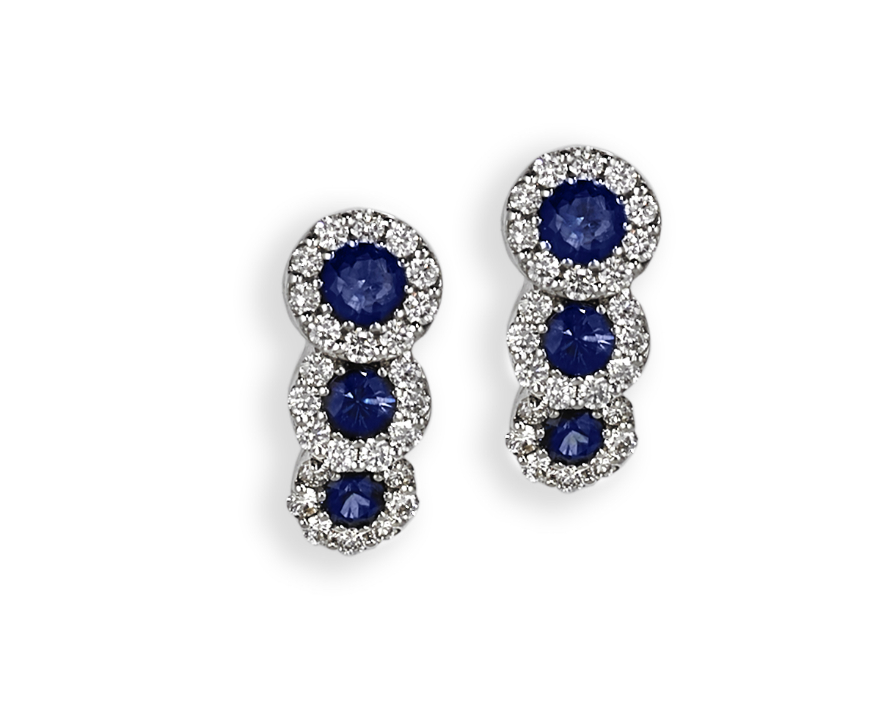 18ct White Gold Sapphire