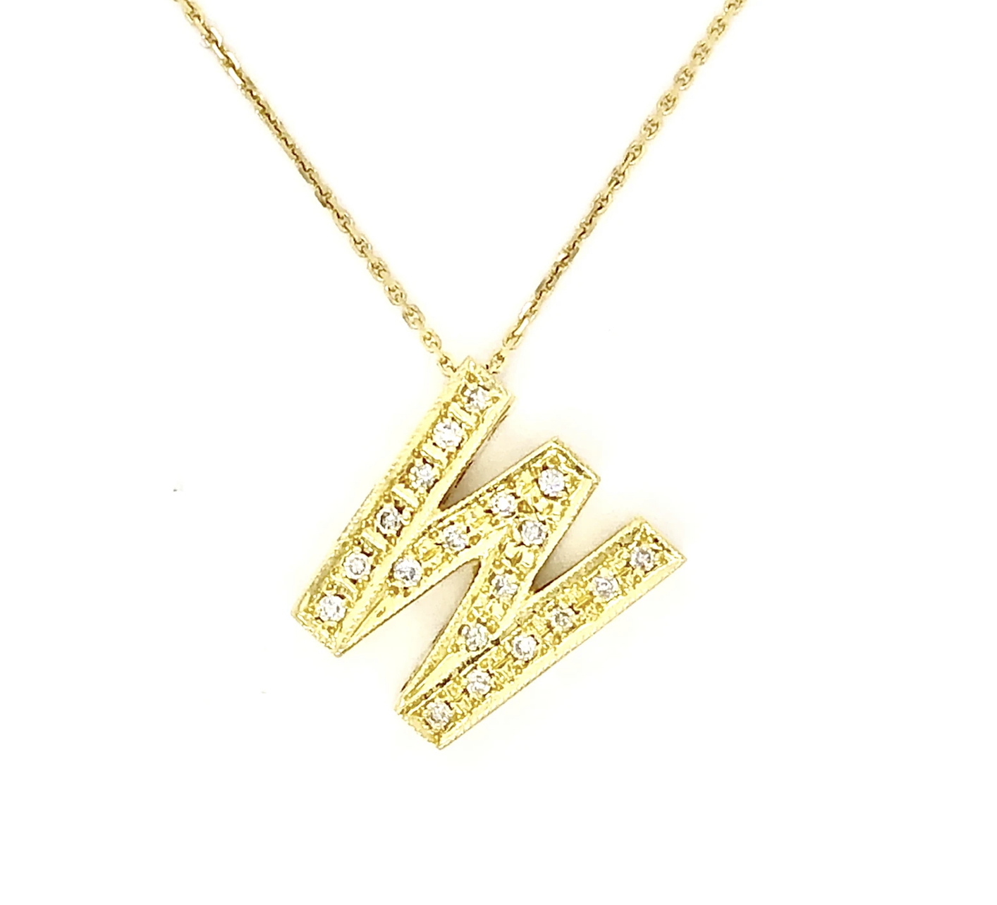 18ct Yellow Gold Diamond