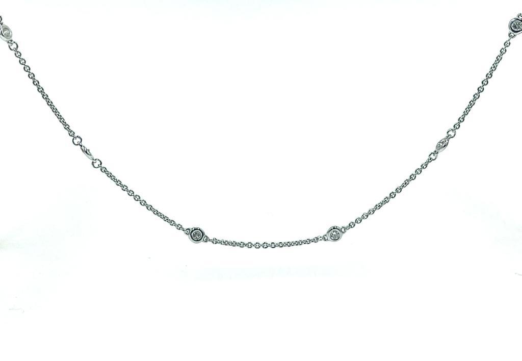 18ct white gold diamond