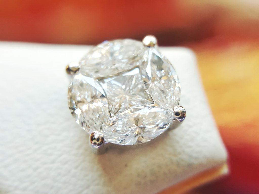 luxury diamond earrings jewellery